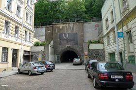 Жижковский туннель со стороны Карлина, Фото: Petr Vilgus, CC BY 3.0