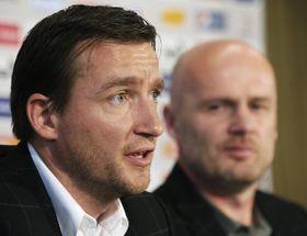 Vladimír Šmicer et Michal Bílek, photo: CTK