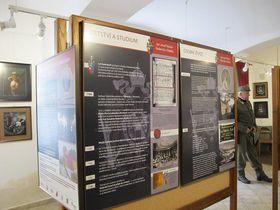 Ausstellung über Radetzky (Foto: Martina Schneibergová)
