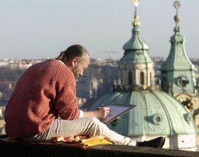 Enero 2005 en Praga (Foto: CTK)