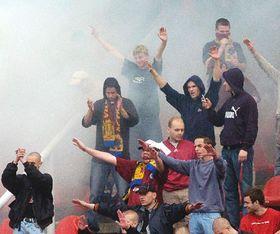 Aficionados de Sparta, foto: CTK