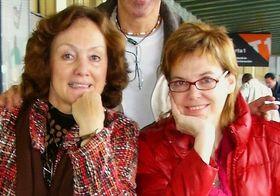 Paloma Pedrero (a la derecha) y Šárka Valverde, foto: archivo de Šárka Valverde