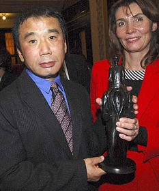 Haruki Murakami and Marketa Miloskova, photo: CTK