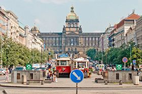 Wenceslas Square, photo: Khalil Baalbaki