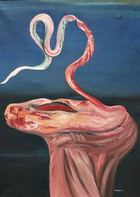 'El Hombre Sepia' ('Člověk sépie') de Jindřich Štyrský, foto: Adolf Loos Gallery