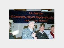 Michal Salomonovic auf dem internationalen Kolloquium zum 60. Jahrestag der Bombardierung Dresdens