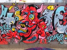 Male den Teufel nicht an die Wand! - Nemaluj čerta na zeď (Foto: txmx 2, Flickr, CC BY-NC-ND 2.0)