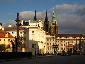 Архиепископский дворец и Собор св. Вита в Пражском граде, Фото: Кристина Макова, Чешское радио - Радио Прага