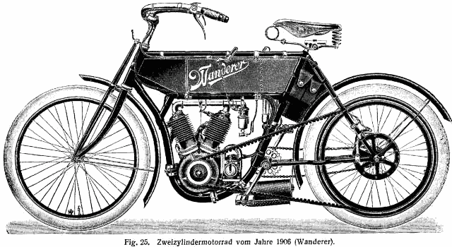 Wanderer Mofa (1904), foto: volný zdroj