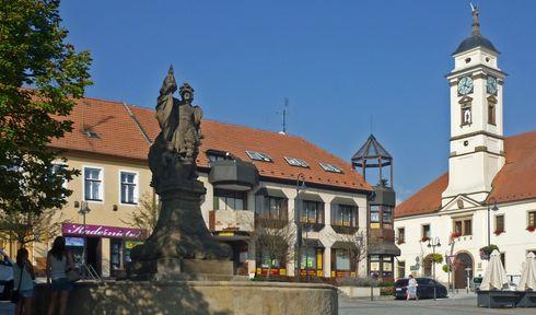 Uherský Brod, photo : SchiDD, Wikimedia Commons, CC BY-SA 4.0