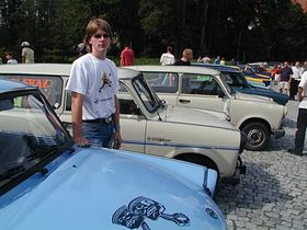 Libor Jelinek traded in his BMW for a Trabi