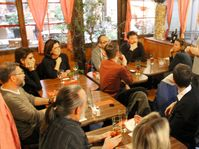 Macron-Komitee in Prag (Foto: Stefan Welzel)