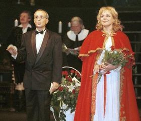 Dagmar Havlová como la Reina Cristina (Foto: CTK)