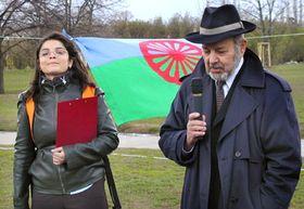 Радка Ковачова и Карел Голомек