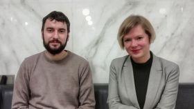Pavel Barák et Jitka Pánek Jurková, photo: Centre tchèque de Bruxelles