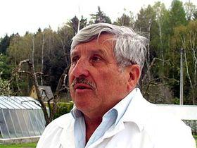 Sochař Jaroslav Bocker, foto: Autor