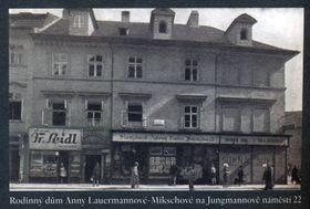 Le maison de famille d'Anna Lauermannová-Mikschová, photo: PNP