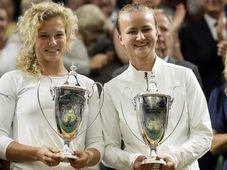 Kateřina Siniaková und Barbora Krejčíková (Foto: ČTK / AP Photo / Tim Ireland)