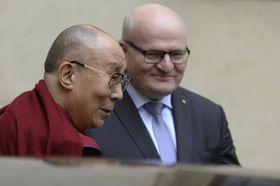 Далай-лама и Даниэл Герман, Фото: ЧТК
