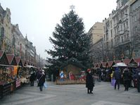 Christmas markets on the Wenceslas Square
