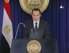 Hosni Mubarak, photo: CTK