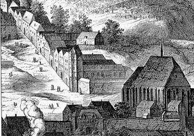 Младотовский дворец, 1606 г.