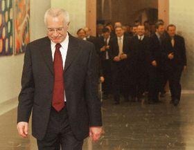 Václav Klaus - vencedor, foto: CTK