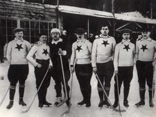 Turnier in Chamonix 1909 (Foto: Archiv des Nationalmuseums in Prag, CC BY 4.0)