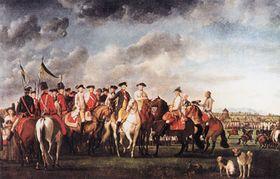 Фельдмаршал Гидеон фон Лаудон и император Йосеф