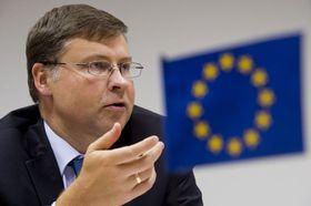 Valdis Dombrovskis, photo: ČTK