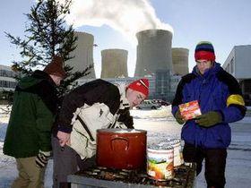 Christmas at Temelin, photo CTK