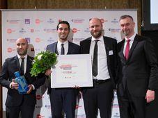 EasyBnb a reçu le mois dernier un prix à la chambre de commerce franco-tchèque, photo: Chambre de commerce franco-tchèque