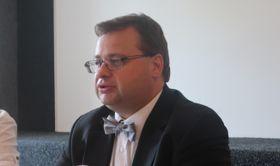 Jakub Rozehnal, ředitel Hvězdárny aplanetária hlavního města Prahy, foto: Martina Bílá