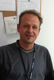 El señor Pavel, uno de los participantes en el Homeless World Cup (Foto: Ivana Vonderková)
