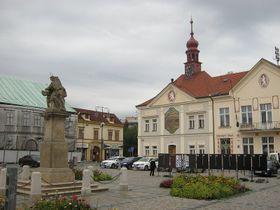 Brandýs nad Labem - Masaryk Square, photo: Dominik Jůn
