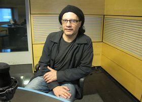 Fernando Otero en Radio Praga, foto: Dominika Bernáthová