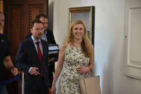 Kateřina Valachová, foto: archivo de la Oficina del Gobierno Checo