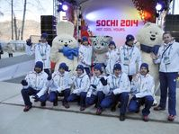 Czech athletes in Sochi, photo: CTK