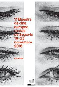 El póster oficial de Cine Europeo de Segovia, fuente: Studio Najbrt
