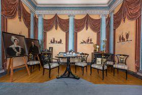 Pompeji-Zimmer (Foto: Archiv des Museums in Nový Jičín)