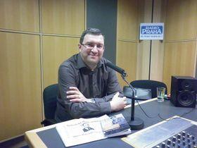 Представитель «Кармелитанского издательства» Павел Мареш (Фото: Зденька Кухинева, Чешское радио - Радио Прага)