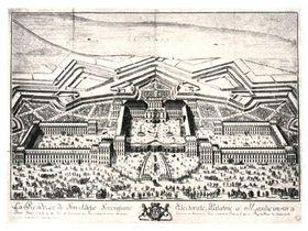 Мангеймский замок, 18-ый век