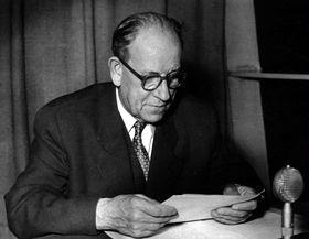 Antonín Zápotocký (Foto: Archiv des Tschechischen Rundfunks)