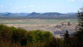 Povrchový důl ČSA, foto: Denisa Tomanová