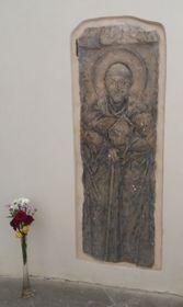 La piedra sepulcral de San Guntero, foto: Martina Bílá
