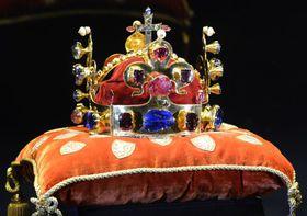 Святовацлавская корона, Фото: ЧТК