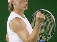 Martina Navratilova (Photo: CTK)
