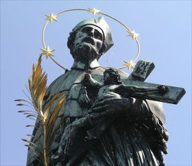 The statue of John of Nepomuk