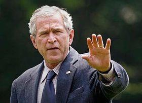 Presidente de EE.UU., George W. Bush (Foto: CTK)