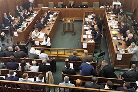 Sitzung der OKD-Gläubiger (Foto: Andrea Čánová, Archiv des Tschechischen Rundfunks)